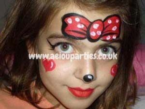 Face Painters Hire for Birthdays Party