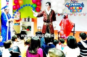 hire birthday party magician in London