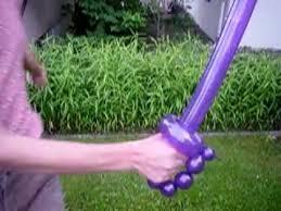 beautiful Balloon swords tutorial for kids entertainment